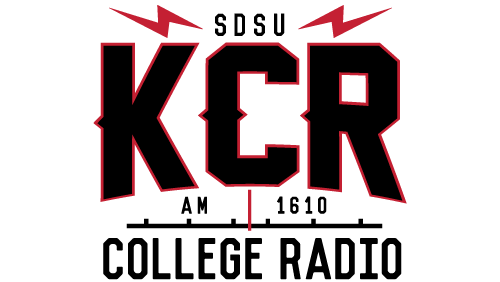 KCR AM 1610 SDSU San Diego Logo