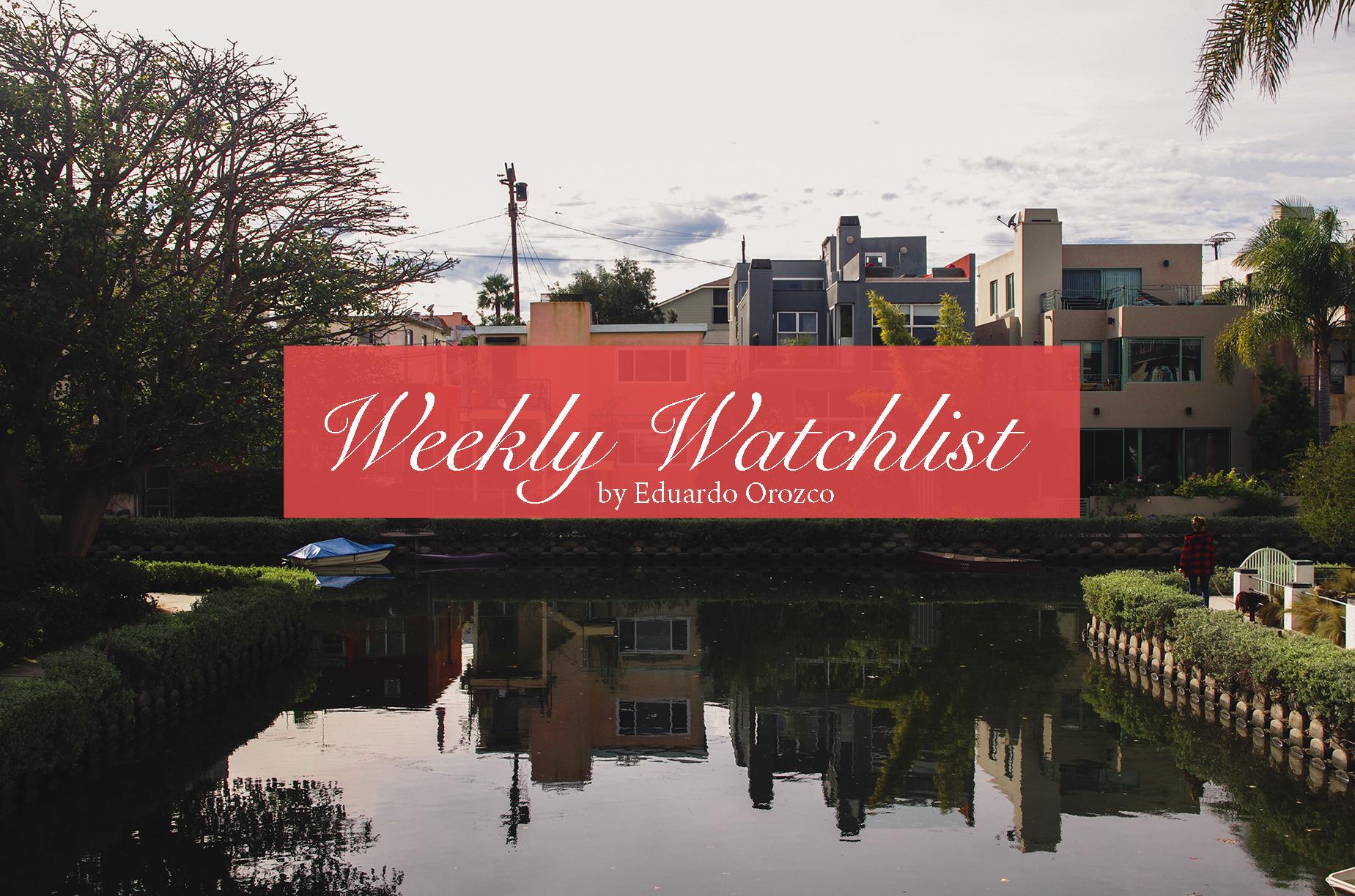 weekly watchlist
