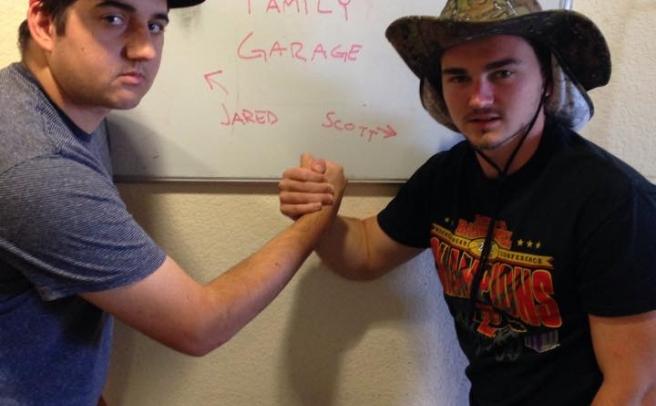 Scott and Jared