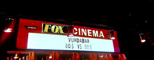 Vundabar playing at the Fox Cinema