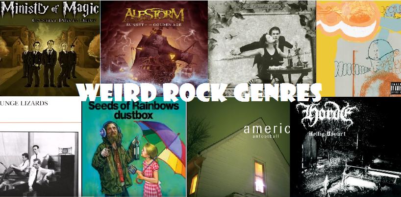 rock genres